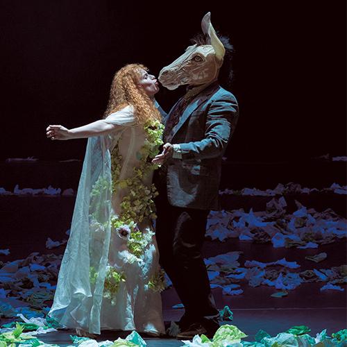 le songe d'une nuit d'été at théâtre National de Nice