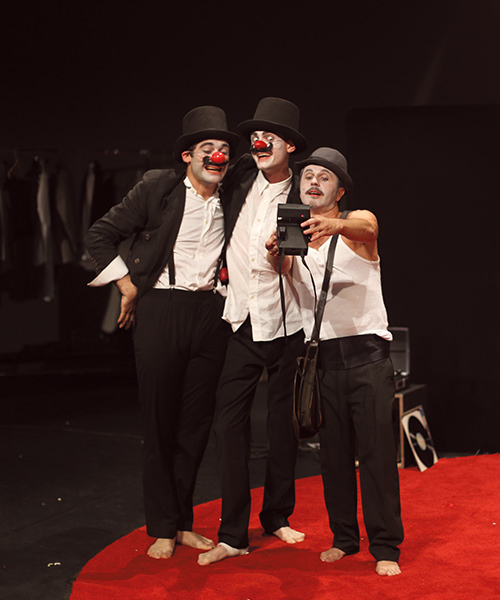 dom juan... et les clowns au Théâtre National de Nice
