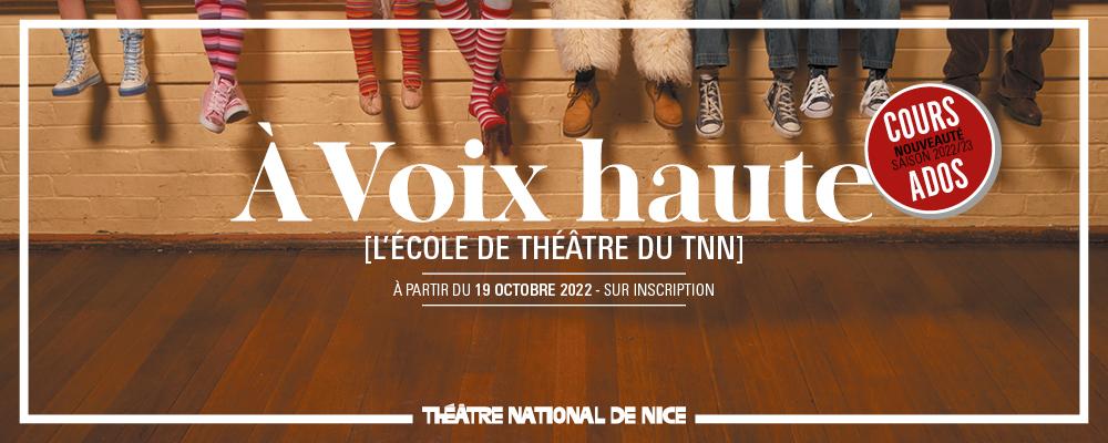 À Voix haute [L'École de théâtre du TNN]